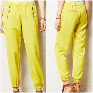 Anthro Hei Hei Yellow Harper Jogger Pants 27